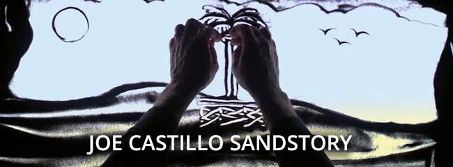 Joe Castillo SandStory  – Thursday, June 5 – 6:30 PM