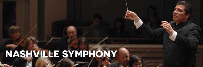 Nashville Symphony – Wednesday, June 22  •  7 PM