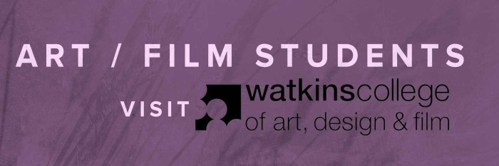 Friday June 17 – Art/Film Students go to Watkins College of Art and Film