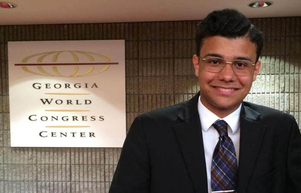 Former GSFTA Music student Anighya Crocker wins national recognition