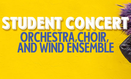 STUDENT CONCERT: ORCHESTRA, CHOIR, AND WIND ENSEMBLE – SAT, JUN 8